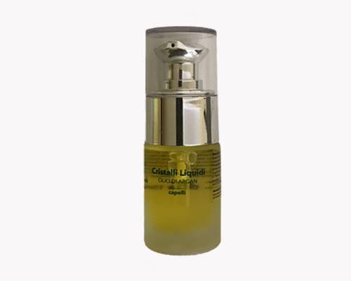olio per capelli cristalli liquidi